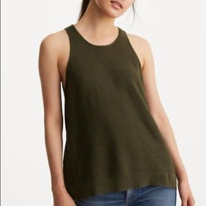 Lou and Grey olive sweater tank